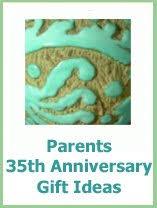 35 anniversary gift 12 gift for 35th wedding anniversary celebrating 35 years of