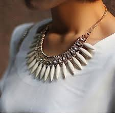 necklace aliexpress images The new women 39 s fashion bohemian crystal pendant necklace pendant jpg
