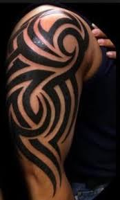 add shading to my tribal tattoos leg