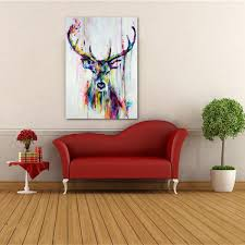 watercolor retro canvas prints home decor wall art painting poster