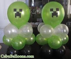 minecraft balloons minecraft balloon centerpieces pinteres