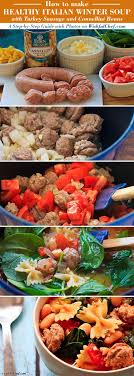 a step by step guide healthy italian winter soup with turkey