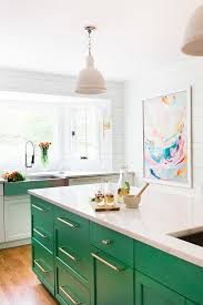 green and kitchen ideas kitchen design with green kitchen island home bunch interior
