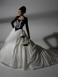 black and white wedding dresses black and white wedding dresses with sleeves naf dresses