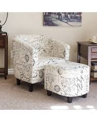 barrel chair with ottoman amazing deal on abbottsmoor barrel chair and ottoman