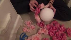 flower balls diy flower room decor