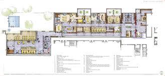 spa floor plan design the resort ocean suites