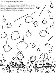 plagues coloring pages
