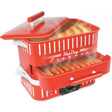 Walmart Canada Christmas Decorations Commercial 2014 by Cuizen St1412 Red Hotdog Steamer With Timer Patented Steaming