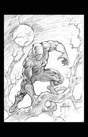 black panther sketch jason metcalf by jasonmetcalf on deviantart