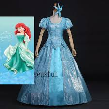 Ariel Mermaid Halloween Costume Adults Cheap Mermaid Dress Aliexpress