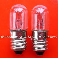 miniature incandescent light bulb good miniature light bulb 130v 2 5w e10 t10x28 a885 in