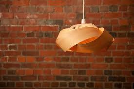 Wood Veneer Pendant Light The Wrap Wood Veneer Lightshade