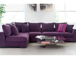 Leather Corner Sofa Inspirations Of Eggplant Sectional Sofa Images On Extraordinary