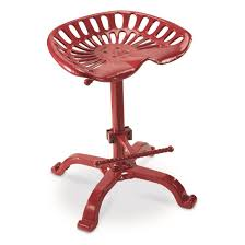 Tractor Seat Bar Stools For Sale Castlecreek Oversized Tractor Seat Bar Stool 500 Lb Capacity