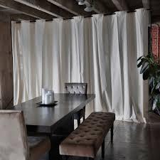 Room Dividers Floor To Ceiling - roomdividersnow muslin freestanding room divider kit u0026 reviews
