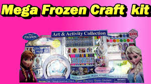 frozen mega craft set for kids costco youtube