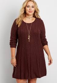 plus sweater dress plus size cable knit sweater dress maurices