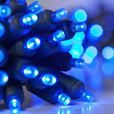 battery operated lights blue 5mm led blue
