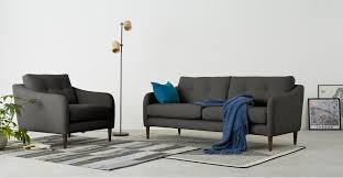 design by conran sofa content by terrence conran alban 3 seater sofa iron made com