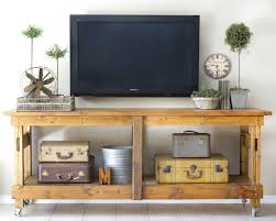 tv stand alternative to a media console like ittv stand decor