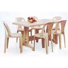 Nilkamal Kitchen Furniture Nilkamal Imperial Dining Table Set With Chair 4002 Model
