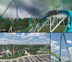 Six Flags Highest Ride Thrill Seekers Virtual Ride On Highest Ranked Roller Coasters In