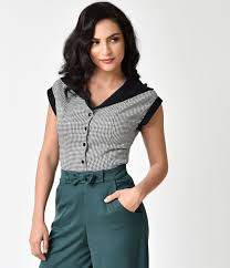 style blouse 1940s style blouses tops shirts