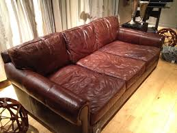 Restoration Hardware Leather Sofas Leather New Leather 94 For Your