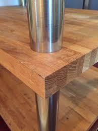 three tier kitchen island oak bench