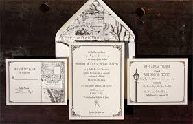 wedding invitations island and coney island avenue border with vintage new