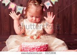 baby 1 year old celebrating stock photo 324799559 shutterstock