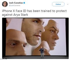 O Face Meme - retailers sell masks after meme response to iphone face id daily