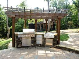 Ideas For Backyard Patio by Outdoor Patio Ideas With Kitchen Team Galatea Homes Diy