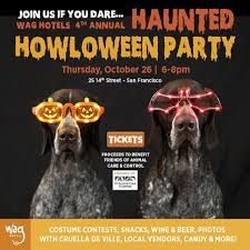 4th annual haunted howl o ween pawty wag hotels benefits