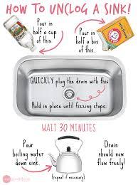 Kitchen Sink Blockage How To Unclog Your Kitchen Unique Kitchen Sink Blocked Home