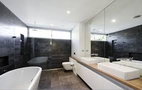Modern Homes Bathrooms Modern House Bathroom Homepeek