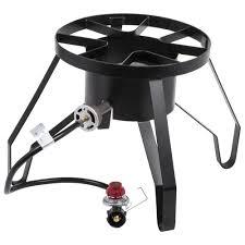 backyard pro single burner outdoor patio stove range 110 000 btu