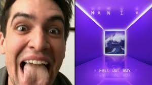 boy photo album exclusive is brendon urie on fall out boy s new album mania