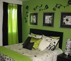 lime green home decor start from using the lime green as the main color of your bedroom