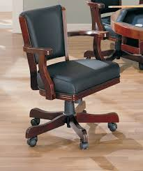 coaster fine furniture 100202 mitchell upholstered arm game chair