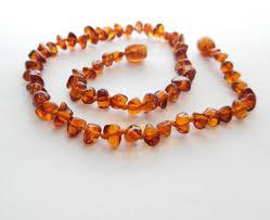 amber beads bracelet images Amber teething necklace and amber bracelet JPG