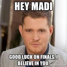 Michael Buble Meme - michael buble finals meme generator