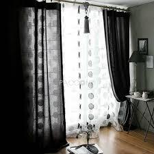 Black Sheer Curtains Best 25 Blackout Curtains Ideas On Pinterest Window Black White