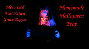 scary grave popper ii animated halloween prop 67 youtube