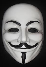 plain mask plain white fawkes anonymous fiberglass war mask 39 99