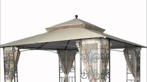Mainstays Gazebo Replacement Parts by Wal Mart Mika Ridge Gazebo Replacement Canopy Youtube