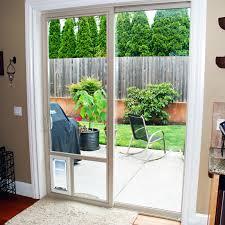 patio doors patio door with pet flap screen dsc 0184 1 guys