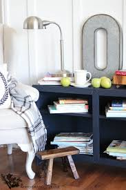 navy blue sideboard the wood grain cottage
