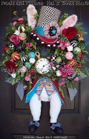 Mad Hatter Decorations Weekly Inspiration Easter Wreaths U0026 Door Decorations Hello